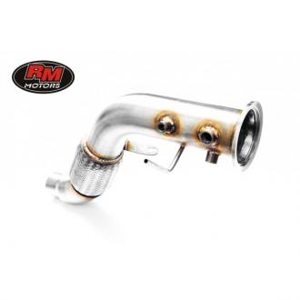 Downpipe BMW X6 - E71 3.0D M57N2