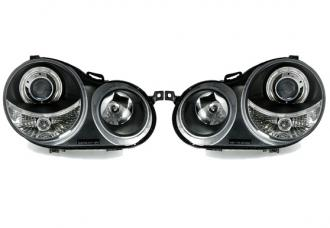 Design svetlomety angel eyes VW POLO 9N