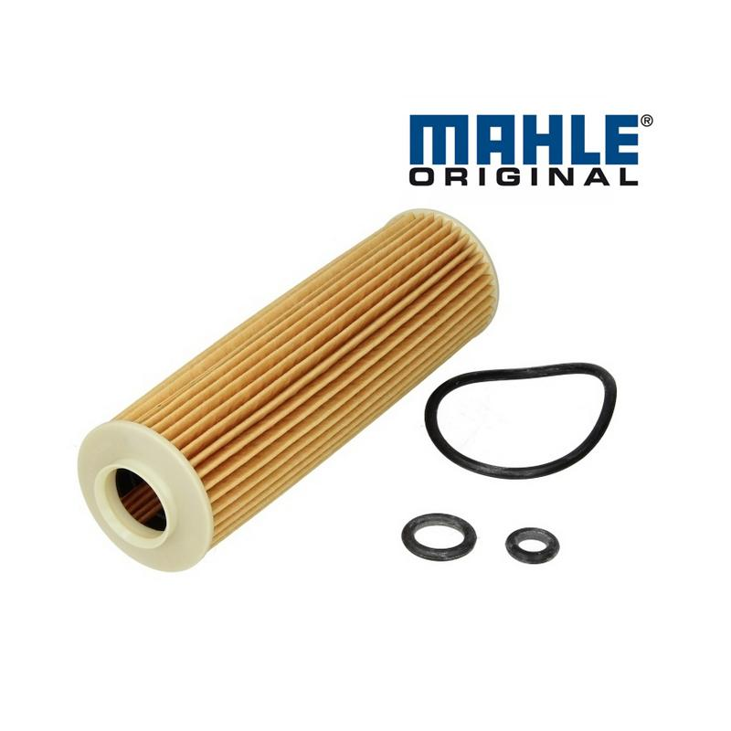 Olejový filter MAHLE ORIGINAL - Mercedes C-CLASS (W203) - 180 Kompressor, OX183/5D1