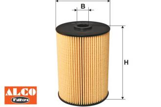 Palivový filter ALCO VW Golf 5 1.9 TDI, 1.9 TDI 4motion, 2.0 SDI, 2.0 TDI, ...
