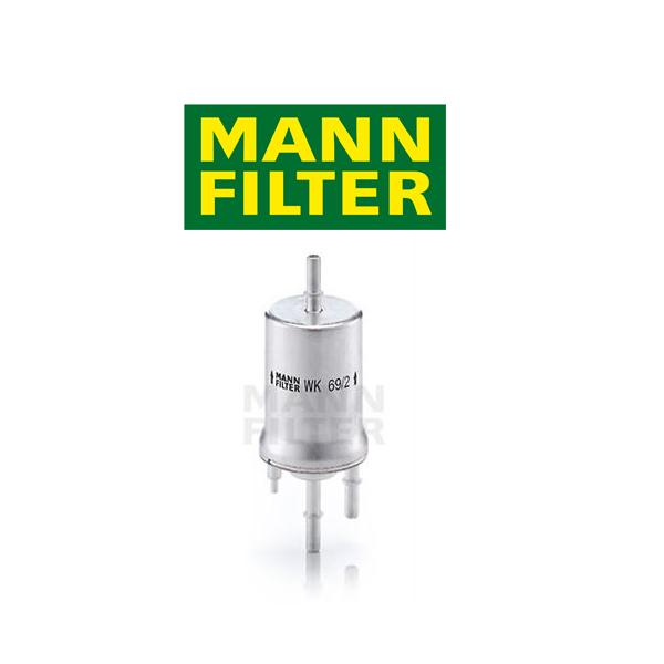 Palivový filter MANN VW Golf 5 1.4 16V, 1.6 (75kW), 3.2 R32 4motion