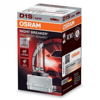 Xenónová výbojka Osram D1S Night Breaker Unlimited Xenarc, +70%