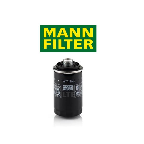 Olejový filter Mann VW Golf 6 1.8 TSI, 2.0 TSI W719/45