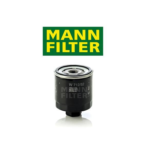 Olejový filter Mann VW Golf 5, Golf 6 1.4 W712/52