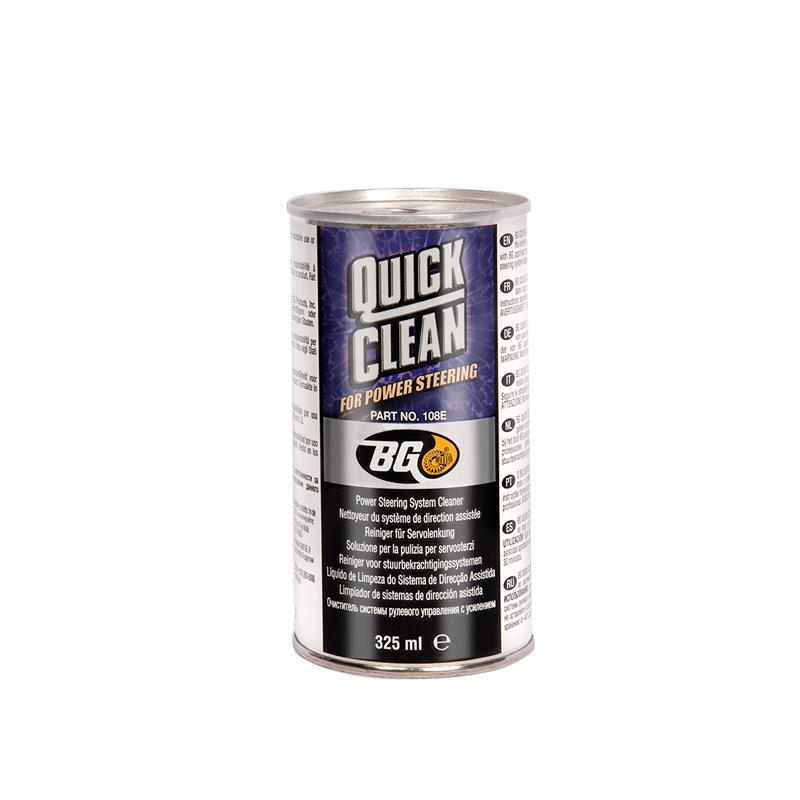 BG 108 QUICK CLEAN FOR POWER STEERING 325ML