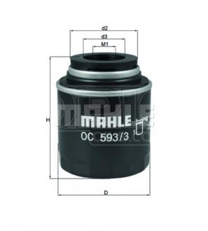 Olejový filter MAHLE ORIGINAL - VW BEETLE - 1.2 TSI, 1.4 TSI