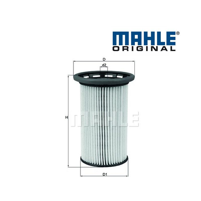 Palivový filter MAHLE ORIGINAL - VW SHARAN (2010 -) - 2.0 TDI, 2.0 TDI 4motion