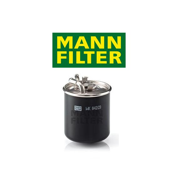 Palivový filter MANN Mercedes W164 ML 280 CDI 4-matic, ML 320 CDI 4-matic, ...