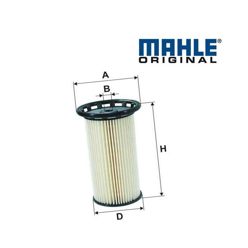 Palivový filter MAHLE ORIGINAL - VW GOLF 7 - 1.6 TDI, 2.0 GTD, 2.0 TDI