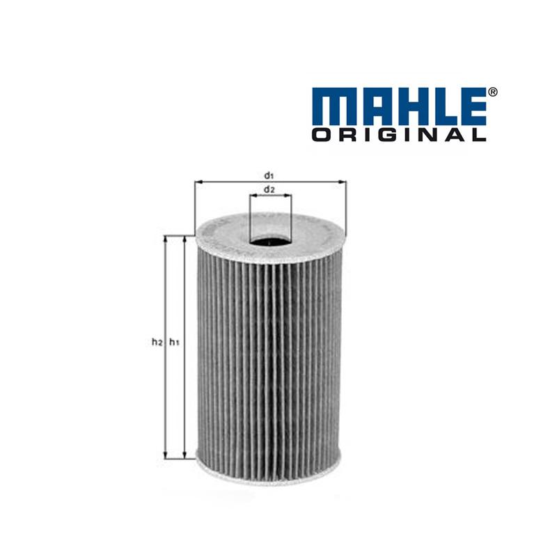 Olejový filter MAHLE ORIGINAL - VW SHARAN (1995-2010) - 1.9 TDI (85kW, 66kW)