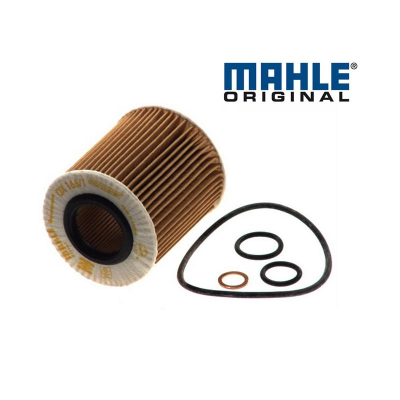 Olejový filter MAHLE ORIGINAL - BMW X3 E83 - 20i OX166/1D