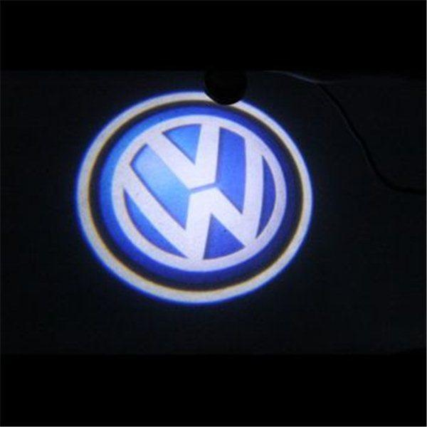 LED projektor do dverí VW