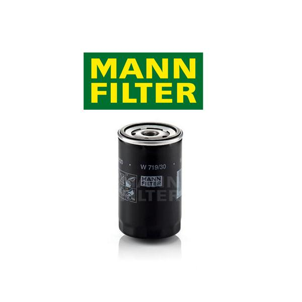 Olejový filter MANN VW Golf 6 1.6, 1.6 BiFuel, 1.6 MultiFuel W719/30