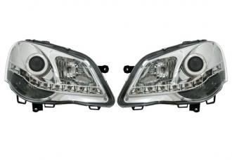 Design svetlomety angel eyes VW POLO 9N  LED Dayline