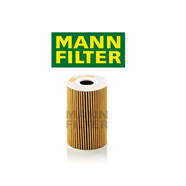 Olejový filter Mann VW TOURAN - 2.0 TDI, 2.0 TDI 4motion - HU7008Z
